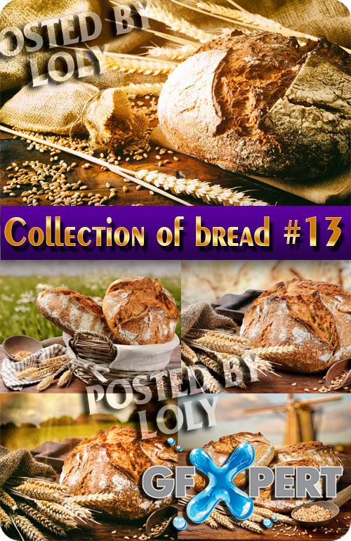 Food. Mega Collection of Bread #13 - Stock Photo