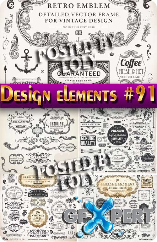 Design element #91 - Stock Vector