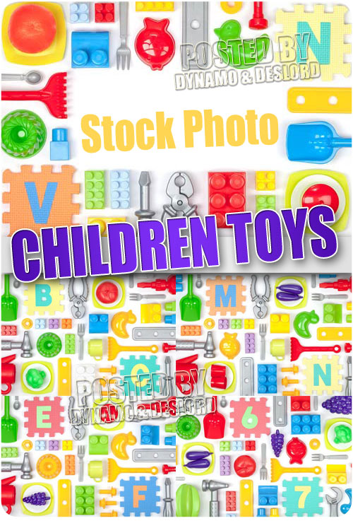 Childrens toys - UHQ Stock Photo