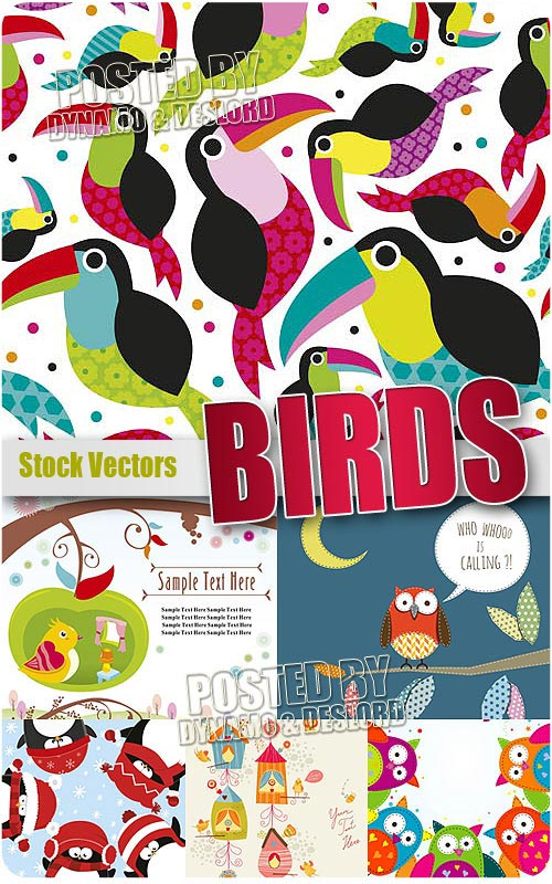 Birds - Stock Vectors