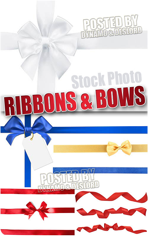 Ribbons and bows - UHQ Stock Photo