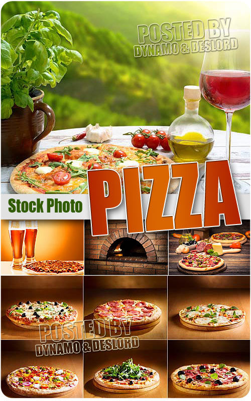 Pizza still-lifes - UHQ Stock Photo