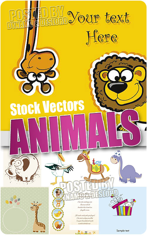 Animals collection - Stock Vectors