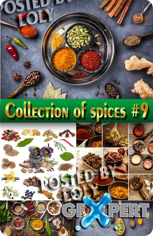 Food. Mega Collection. Spices #9 - Stock Photo