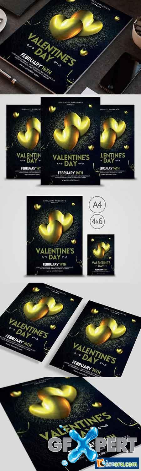 Creativemarket Valentine's Day Flyer 1165531