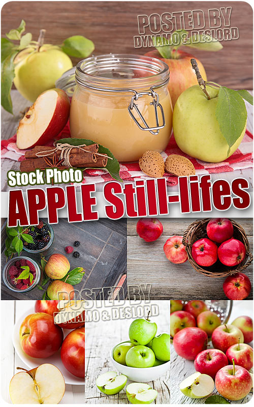 Apple still-lifes - UHQ Stock Photo