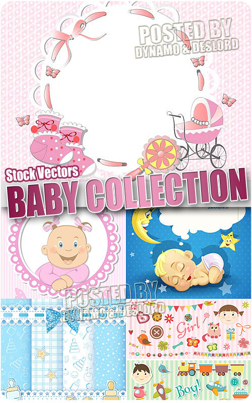Baby collection - Stock Vectors