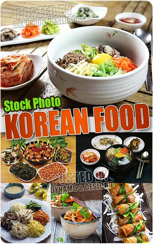 Korean food - UHQ Stock Photo