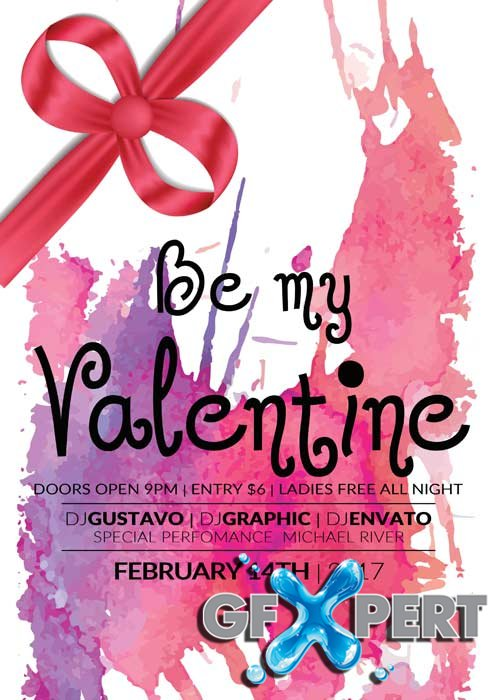 Valentines Party V39 Flyer Template