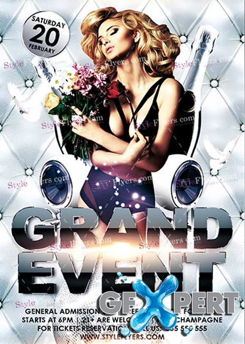 Grand Event PSD V16 Flyer Template