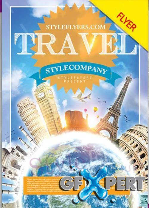 Travel V14 PSD Flyer Template
