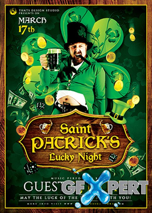 Saint Patrick Flyer V14 Template V1