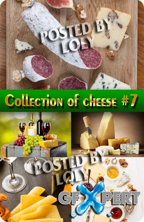 Food. Mega Collection. Cheese #7 - Stock Photo