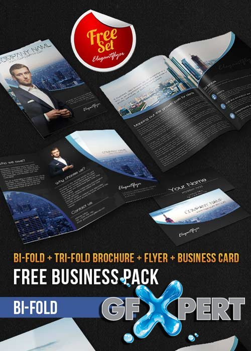 Business Brochure Pack V7 PSD Template