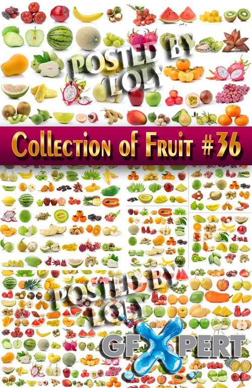 Food. Mega Collection. Fruit #36 - Stock Photo