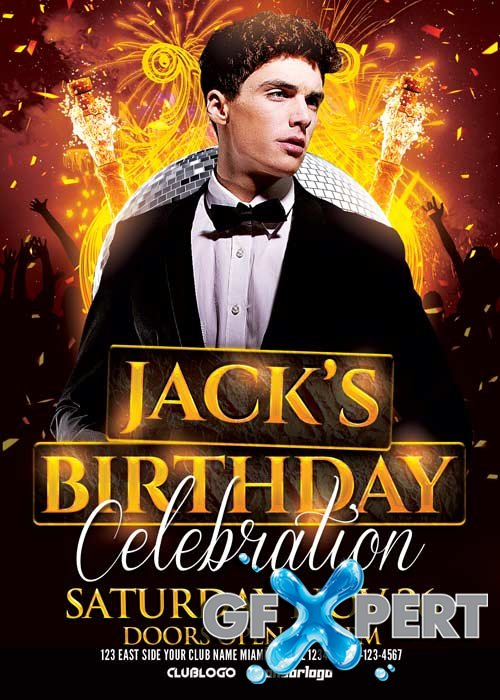 Birthday Celebration V16 Flyer Template