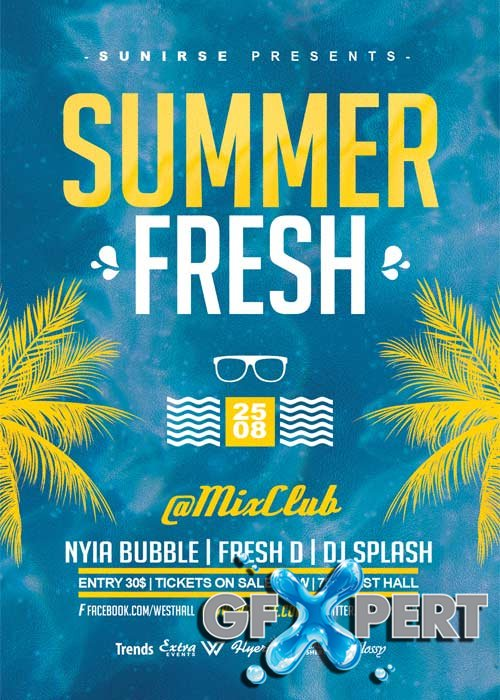 Summer Fresh V10 Flyer Template
