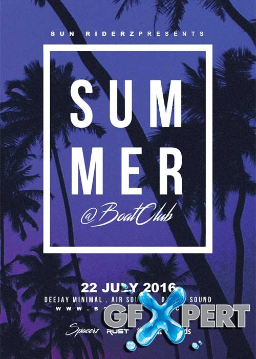 Summer V41 Flyer Template
