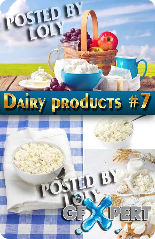Food. Mega Collection. Dairy products #7 - Stock Photo