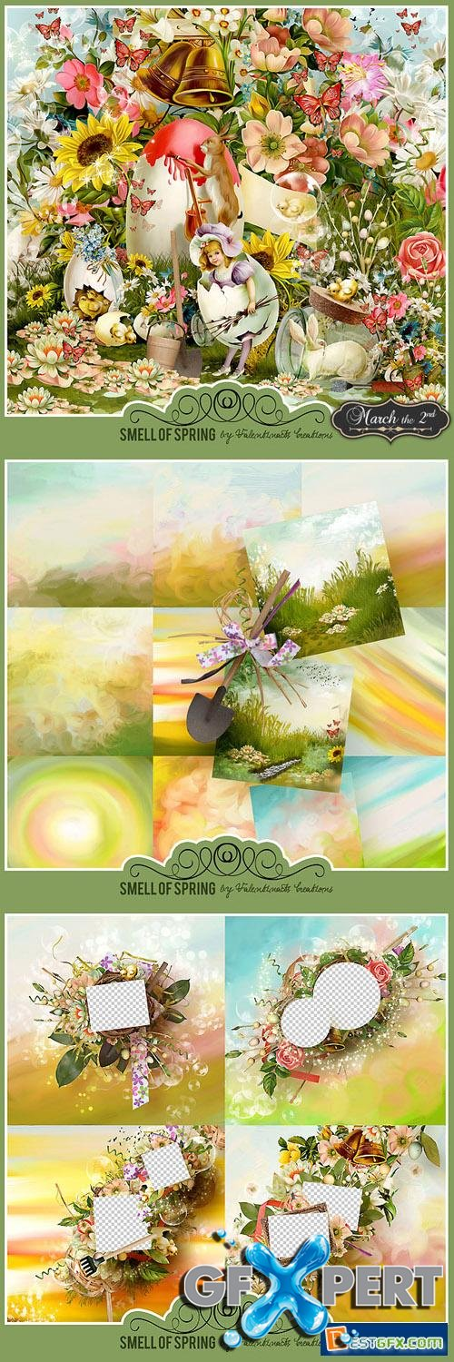 Scrap Kit - Smell of Spring