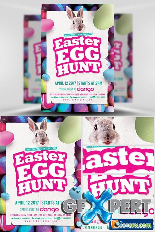 Flyer Template - 2017 Easter Egg Hunt
