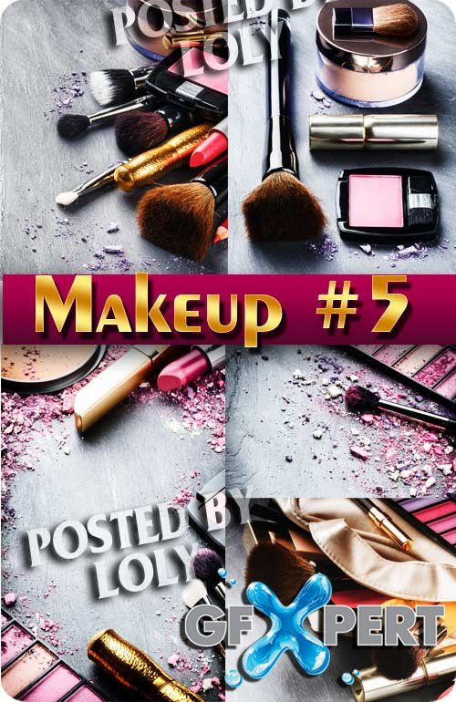 Makeup #5 - Stock Photo