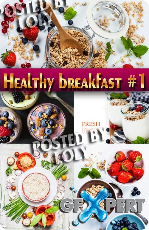 Healthy breakfast #1 - Stock Photo