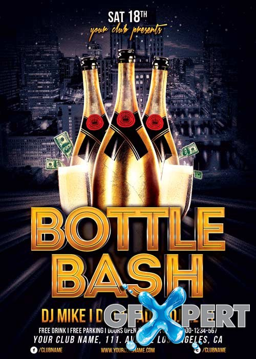 Bottle Bash V14 Flyer Temlate