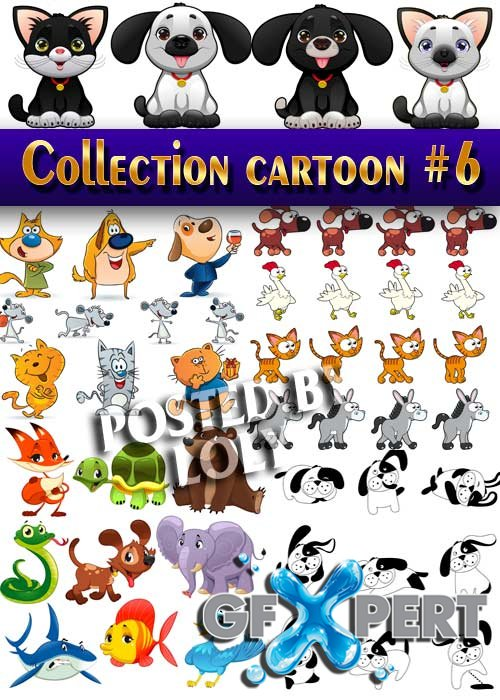 Collection of Cartoon #6 - Stock Vector