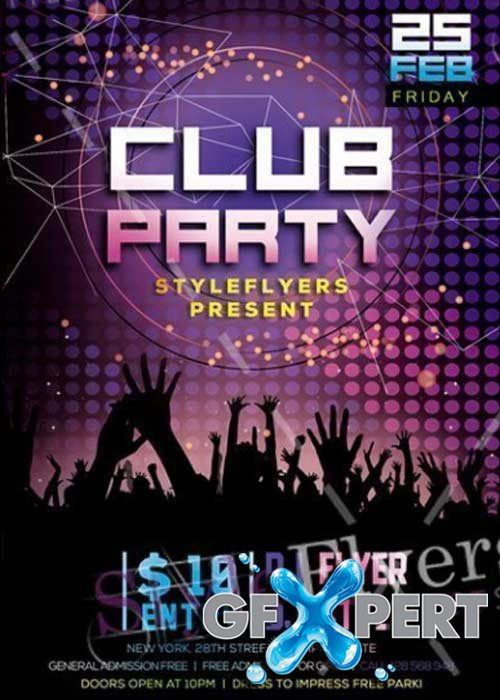 Club Flyer V27 PSD Template