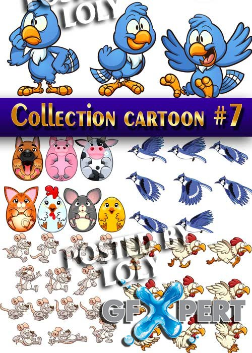 Collection of Cartoon #7 - Stock Vector