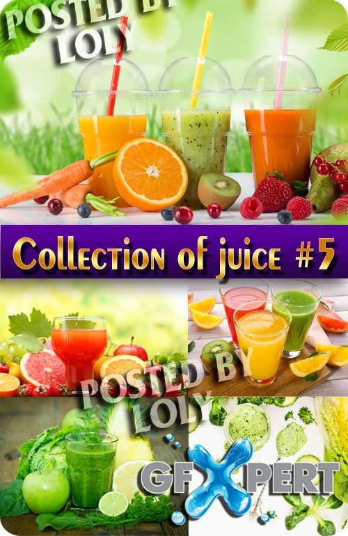 Food. Mega Collection. Juice #5 - Stock Photo