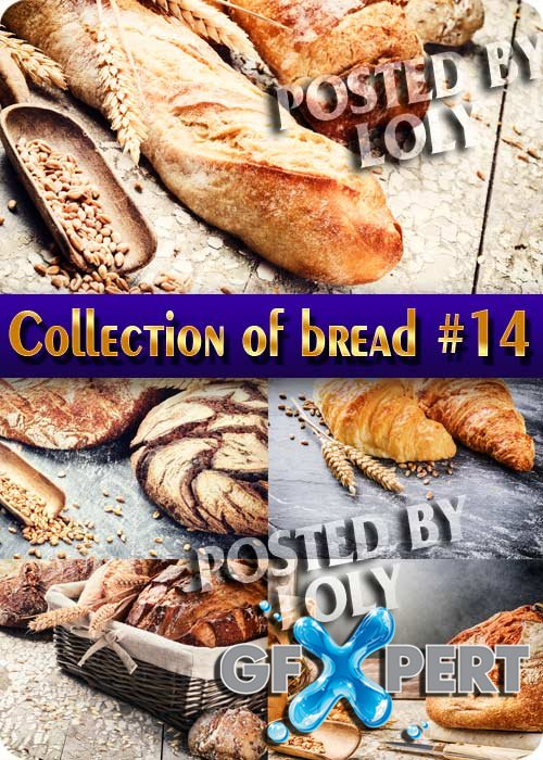 Food. Mega Collection of Bread #14 - Stock Photo