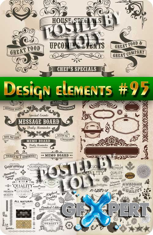Design element #95 - Stock Vector