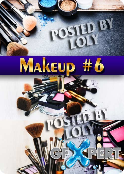 Makeup #6 - Stock Photo