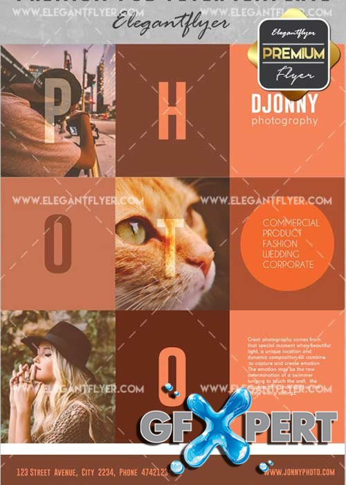 Photo V11 Flyer PSD Template + Facebook Cover
