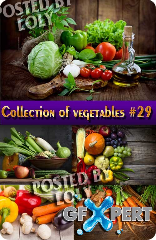 Food. Mega Collection. Vegetables #29 - Stock Photo