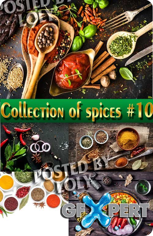 Food. Mega Collection. Spices #10 - Stock Photo