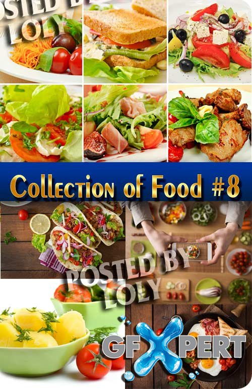 Food. Mega Collection. Food #8 - Stock Photo