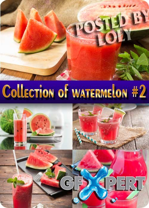 Food. Mega Collection of watermelon #2 - Stock Photo