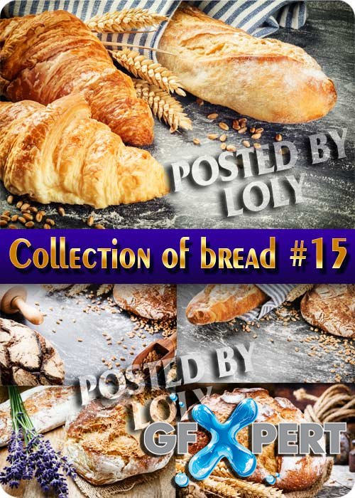 Food. Mega Collection of Bread #15 - Stock Photo