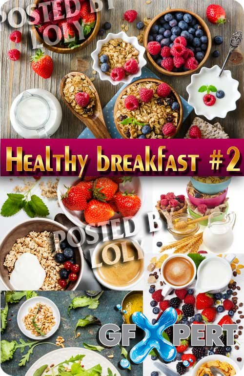 Healthy breakfast #2 - Stock Photo