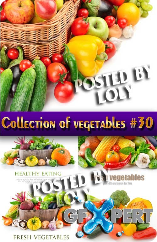 Food. Mega Collection. Vegetables #30 - Stock Photo