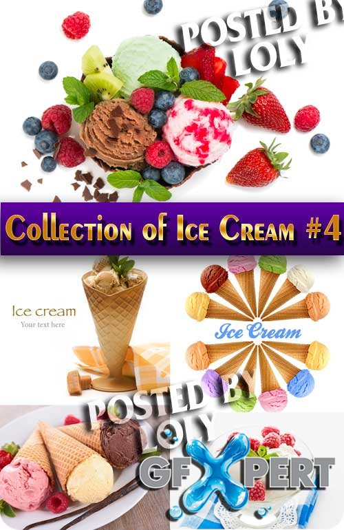 Food. Mega Collection. Ice Cream #4 - Stock Photo