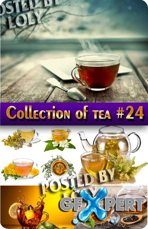 Mega Collection. Tea #24 - Stock Photo