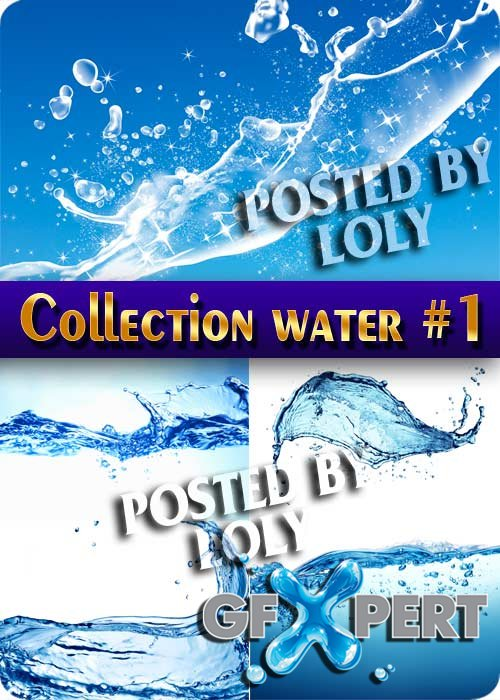 Mega Collection. Water #1 - Stock Photo