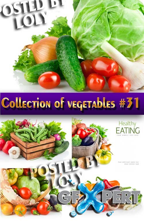 Food. Mega Collection. Vegetables #31 - Stock Photo