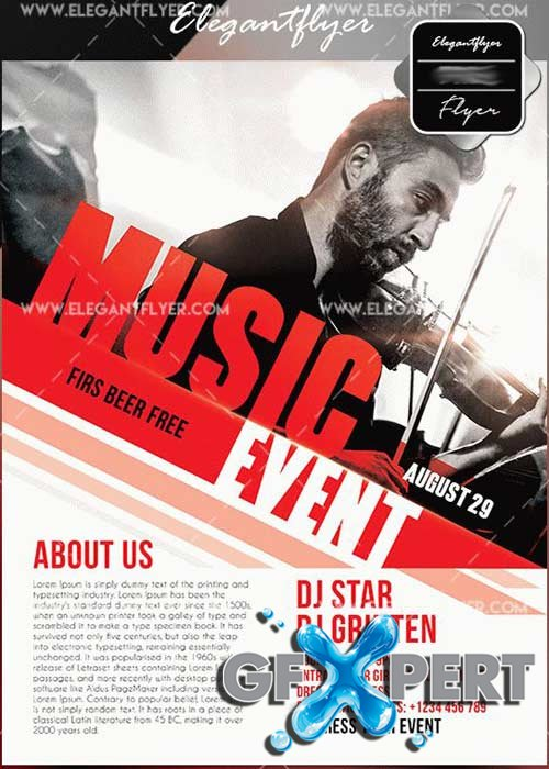 Music Event V7 Flyer Templates