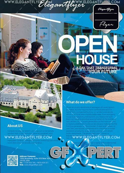Open House V20 Flyer Template