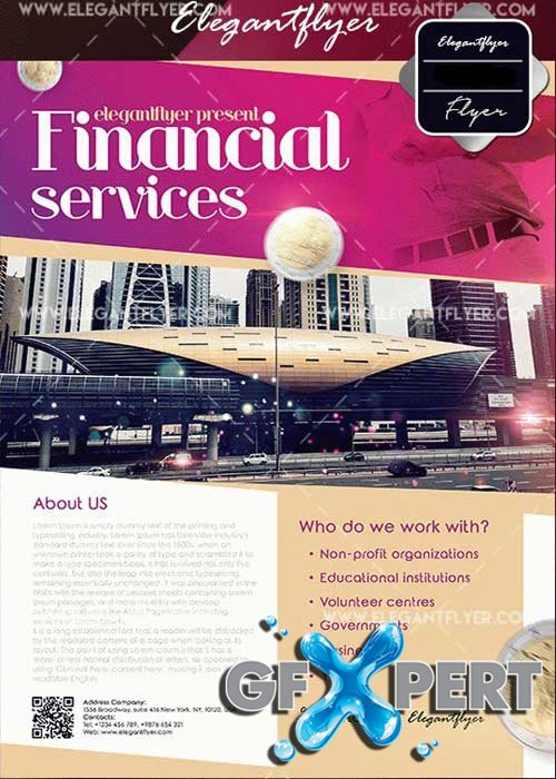 Financial Services V21 Flyer Templates